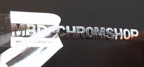 Chrombuchstaben von  www.chrombeschriftung.de
